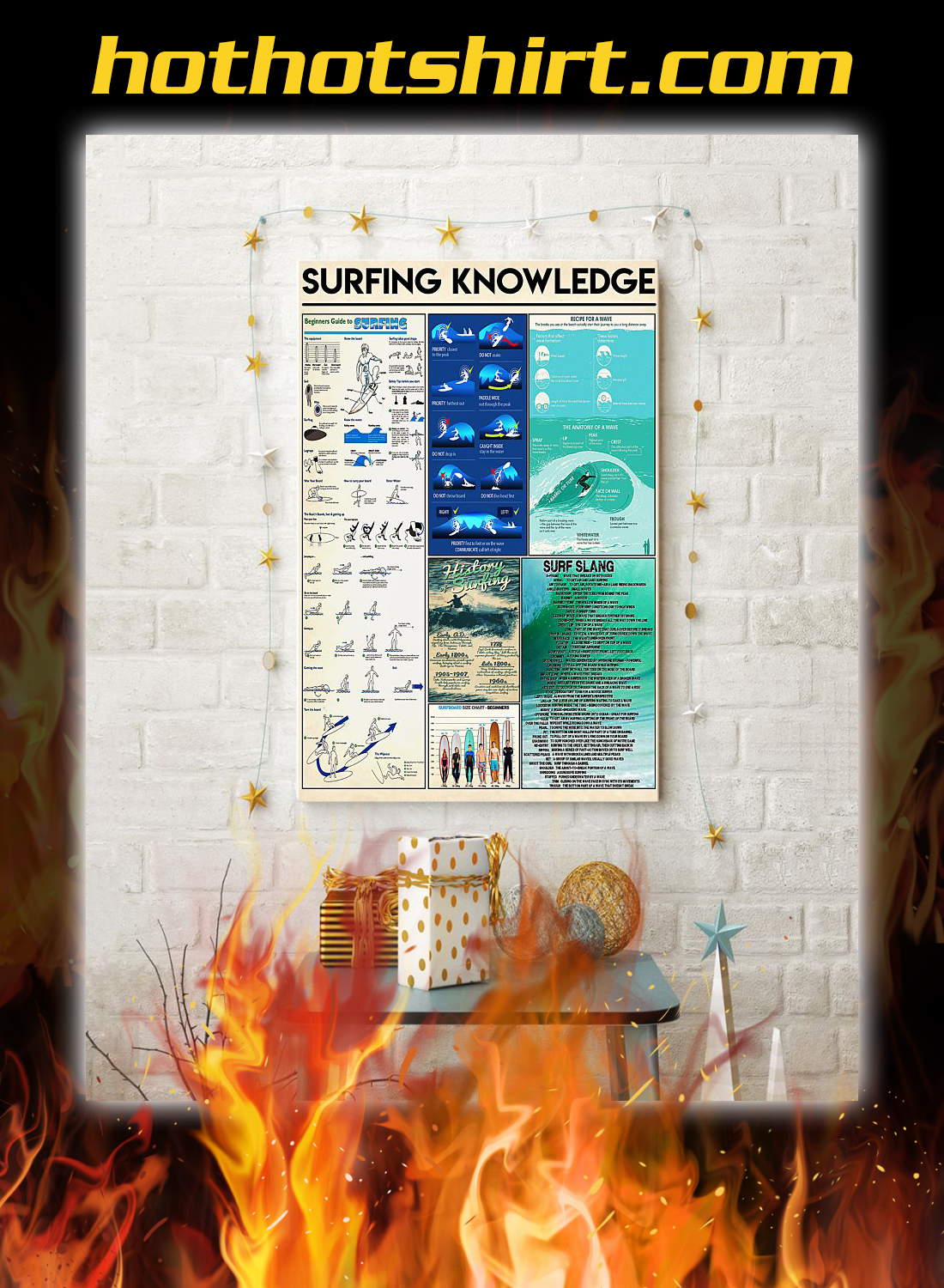 Surfing knowledge poster 2