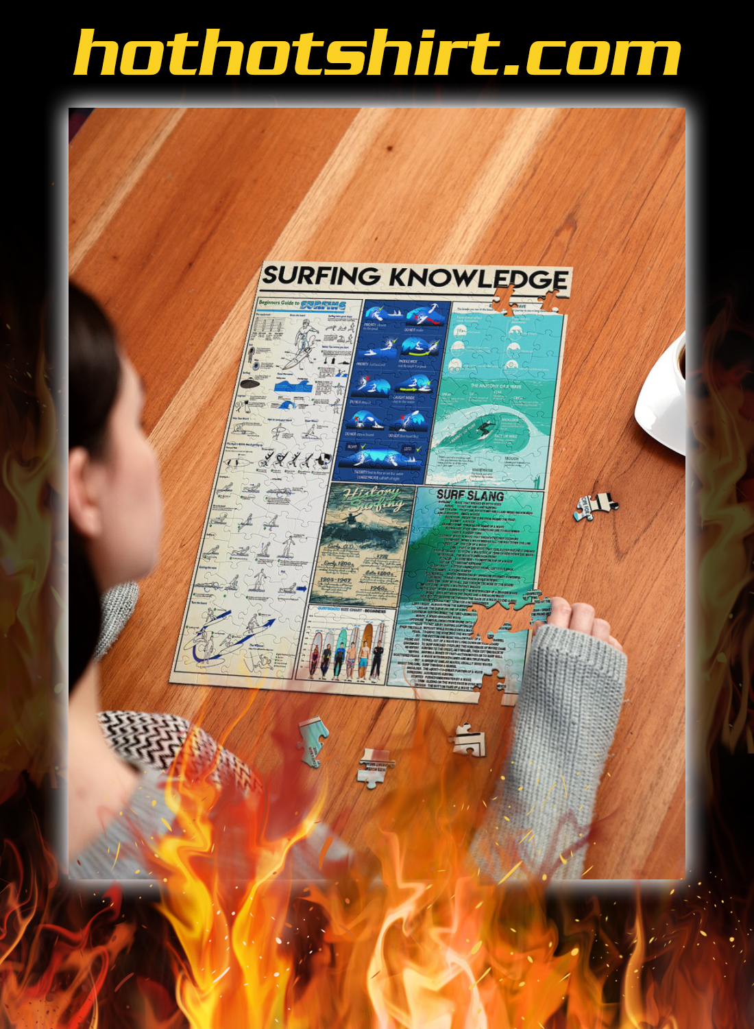 Surfing knowledge poster 4