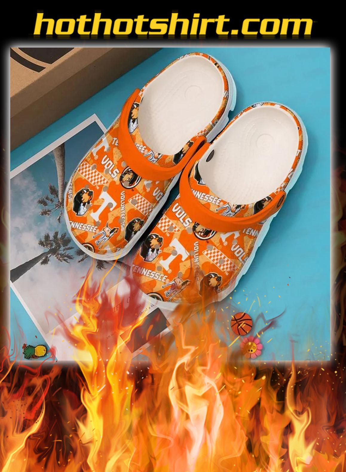 Tennessee volunteers football crocband crocs shoes- pic 1