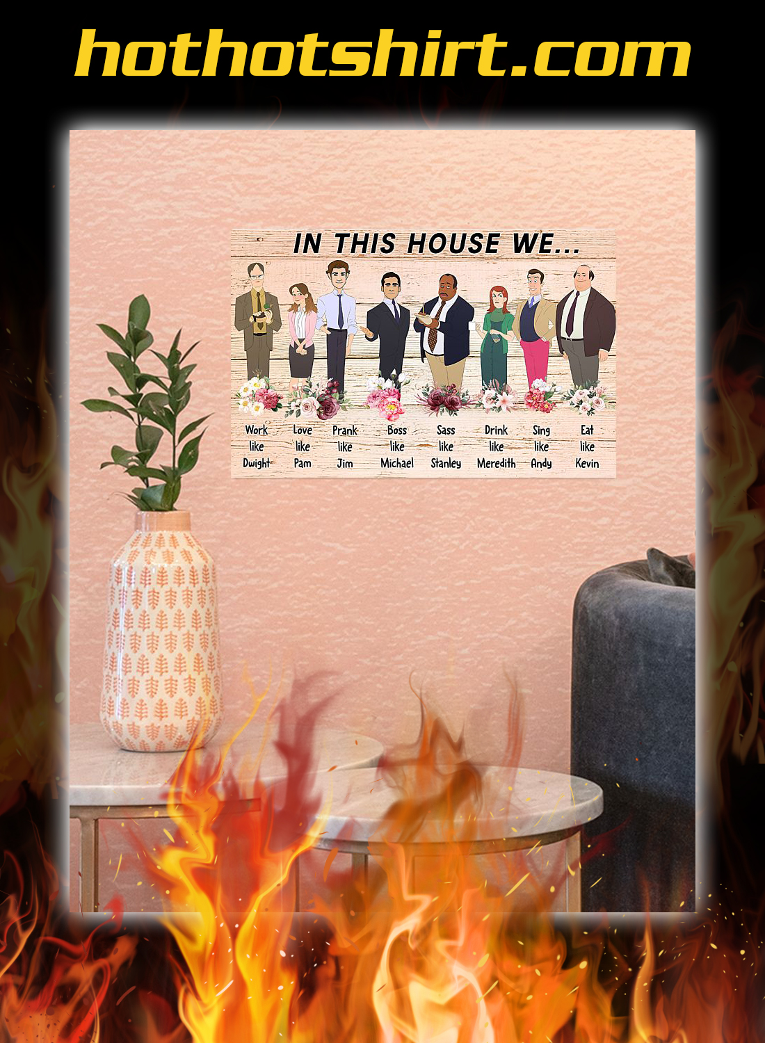 The office In this house we poster 3