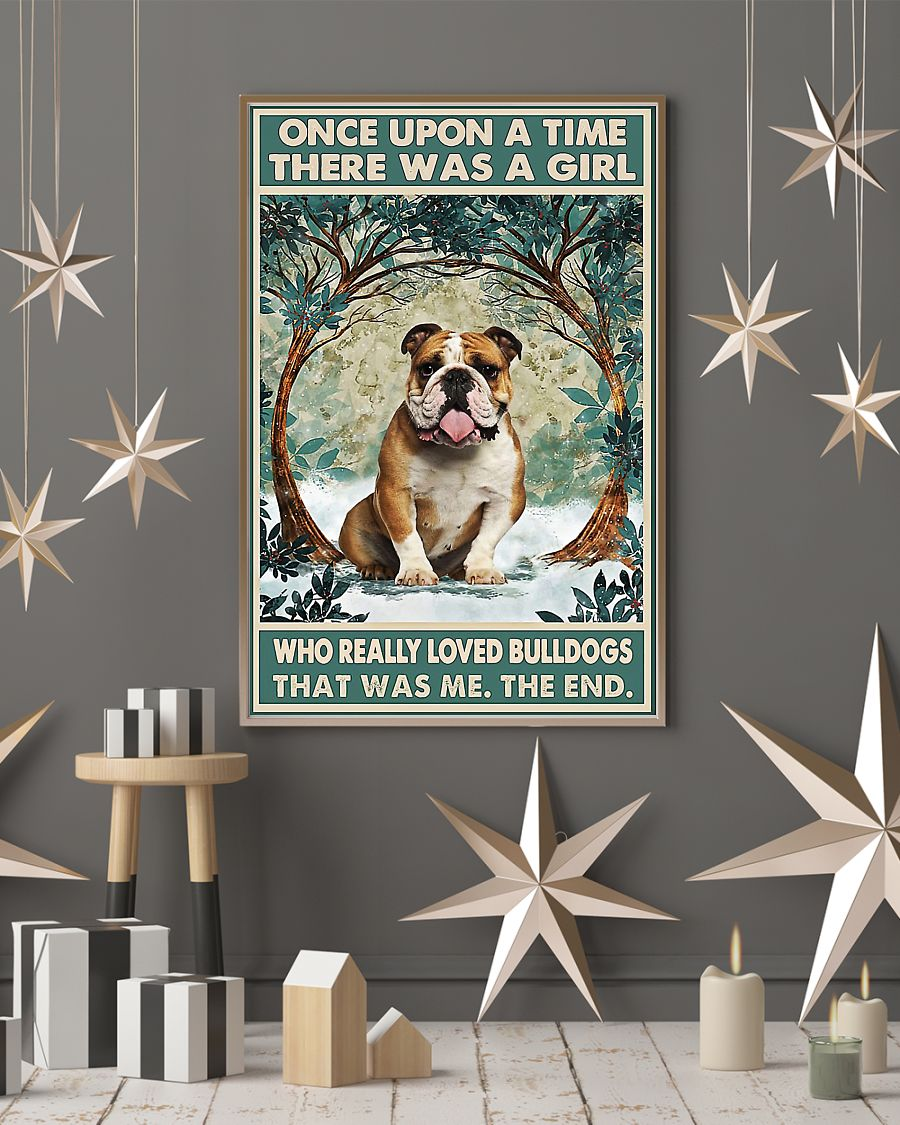 There was a girl who really loved bulldogs poster 1