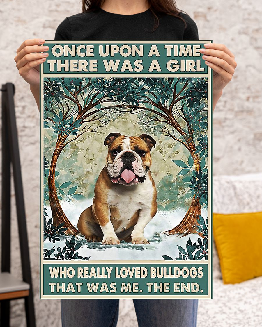 There was a girl who really loved bulldogs poster 3