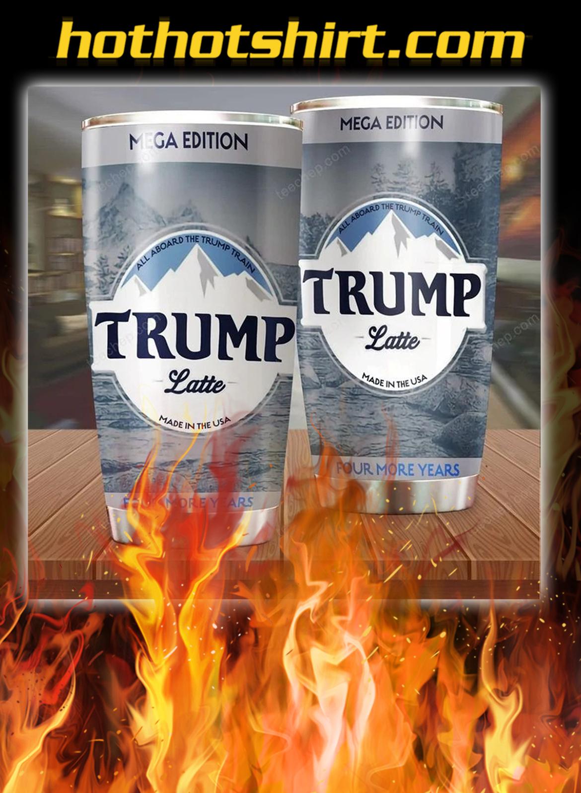 Trump latte tumbler - 20oz