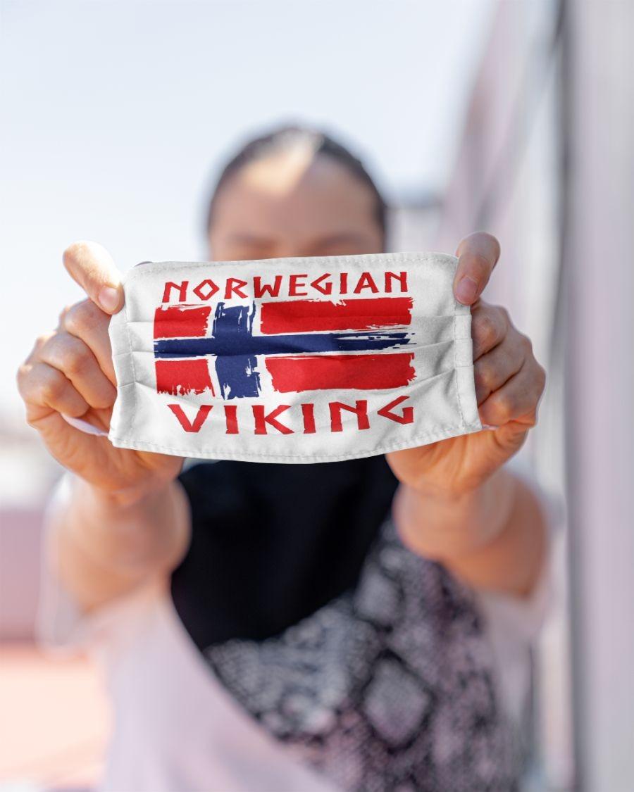 Viking norwegian face mask 2