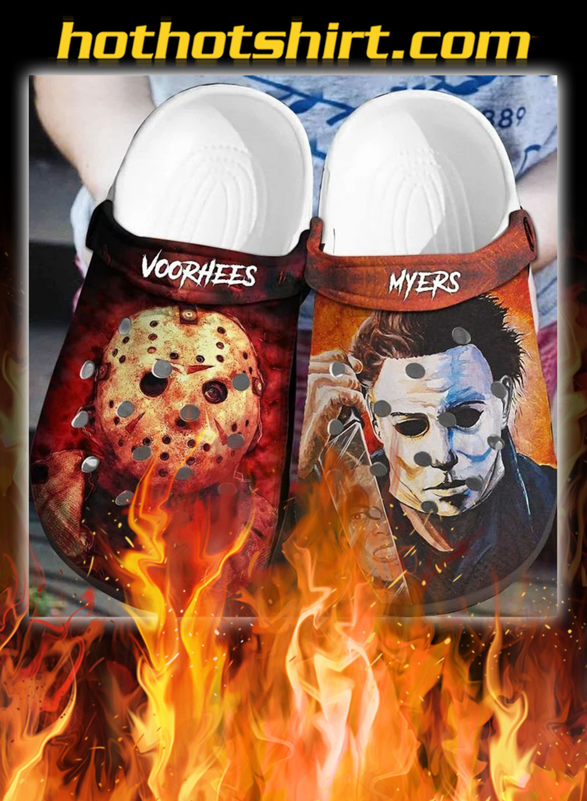 Voorhees myers crocband crocs shoes - pic 1