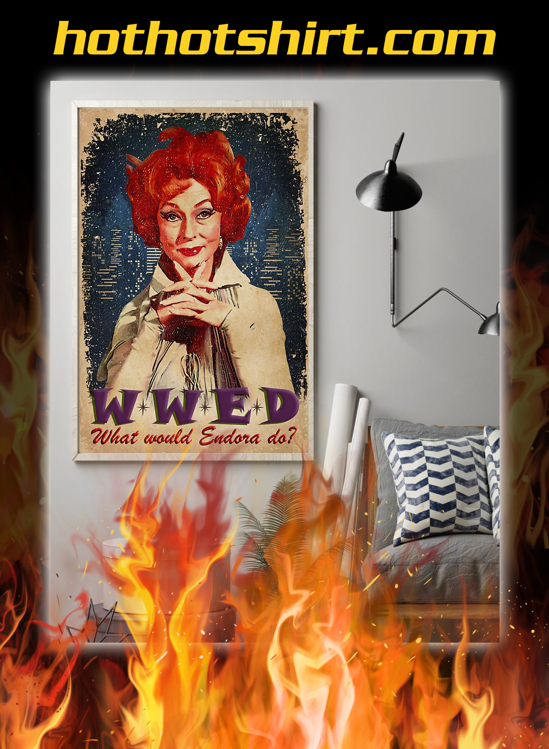 WWED what whould endora do poster 1