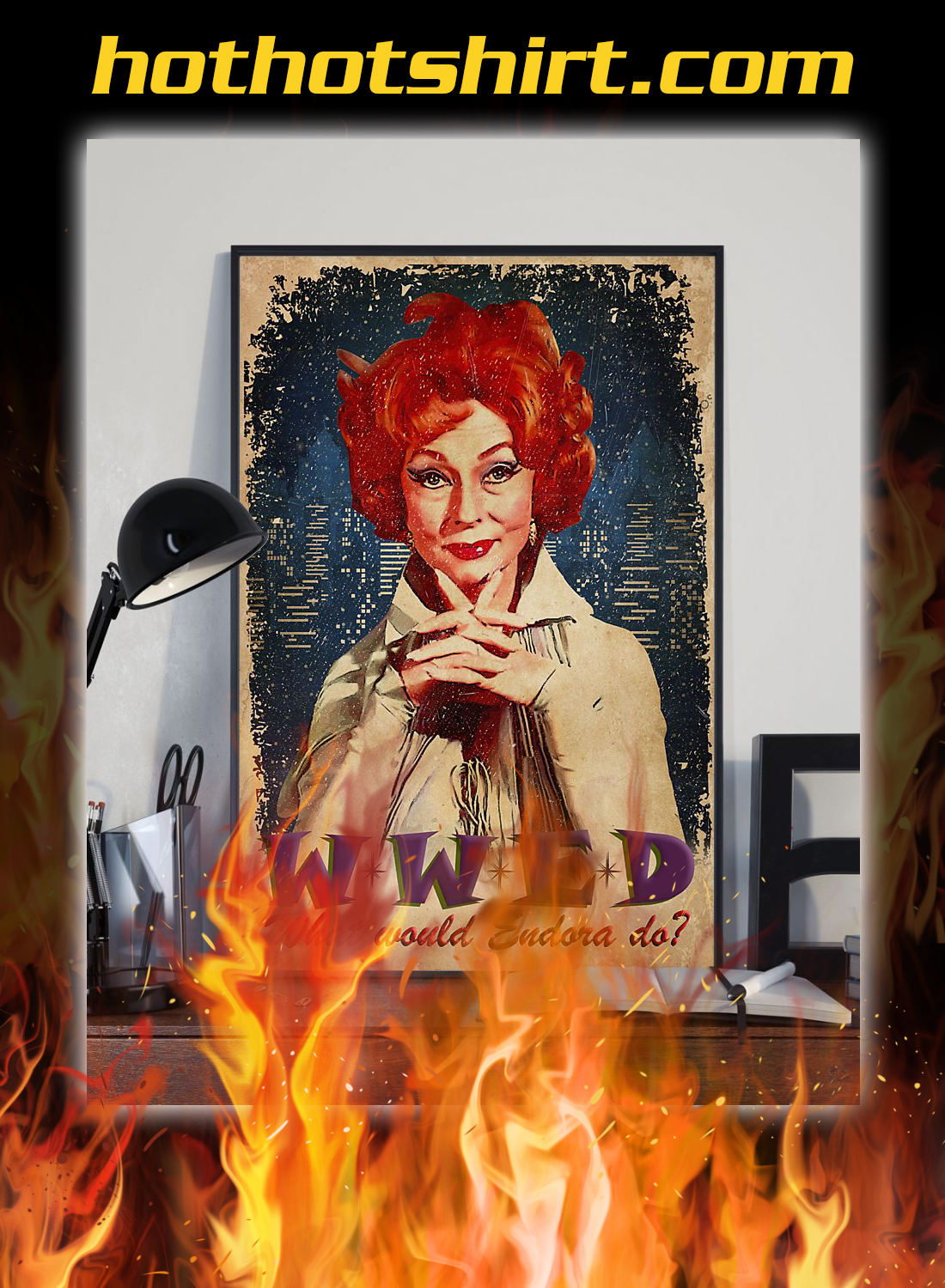WWED what whould endora do poster 2
