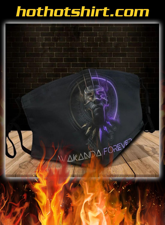 Wakanda forever cloth face mask 1