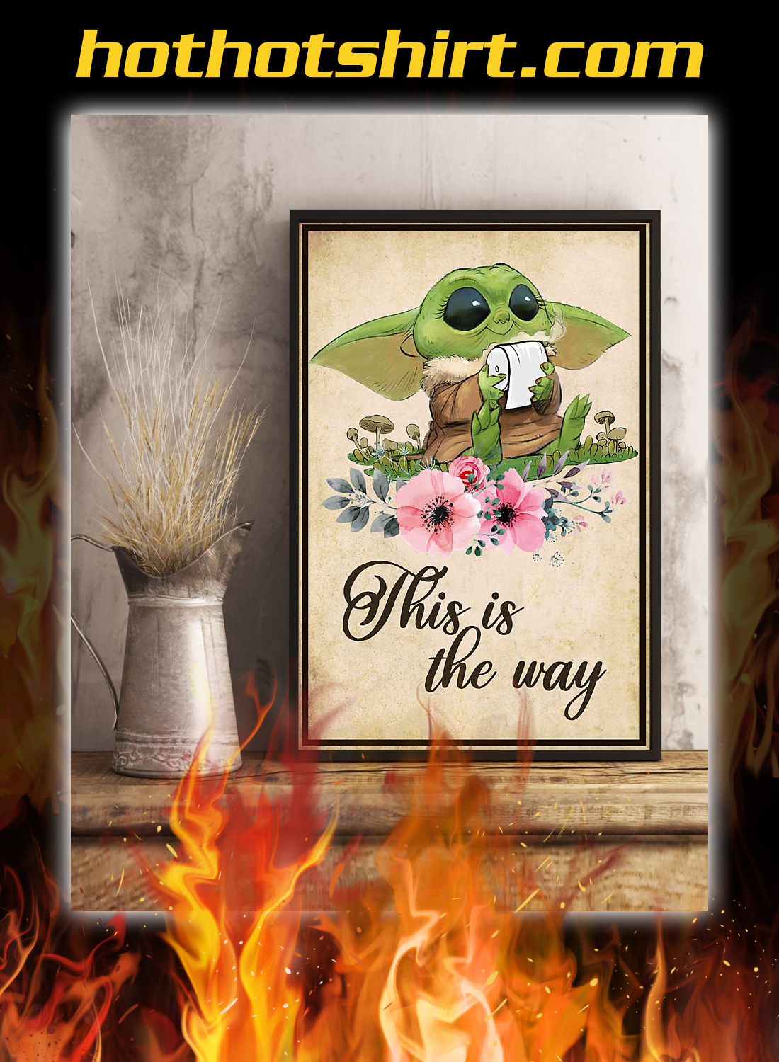 Yoda this is the way poster 2