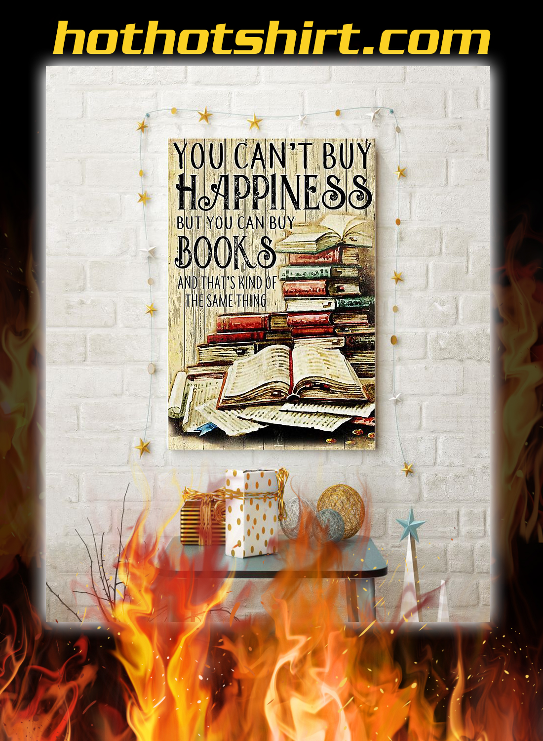 You can't buy happiness but you can buy books poster 3