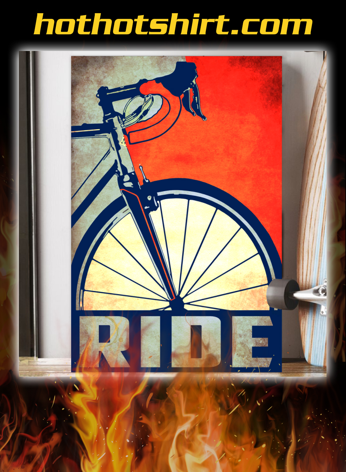 Bicycle ride poster 1