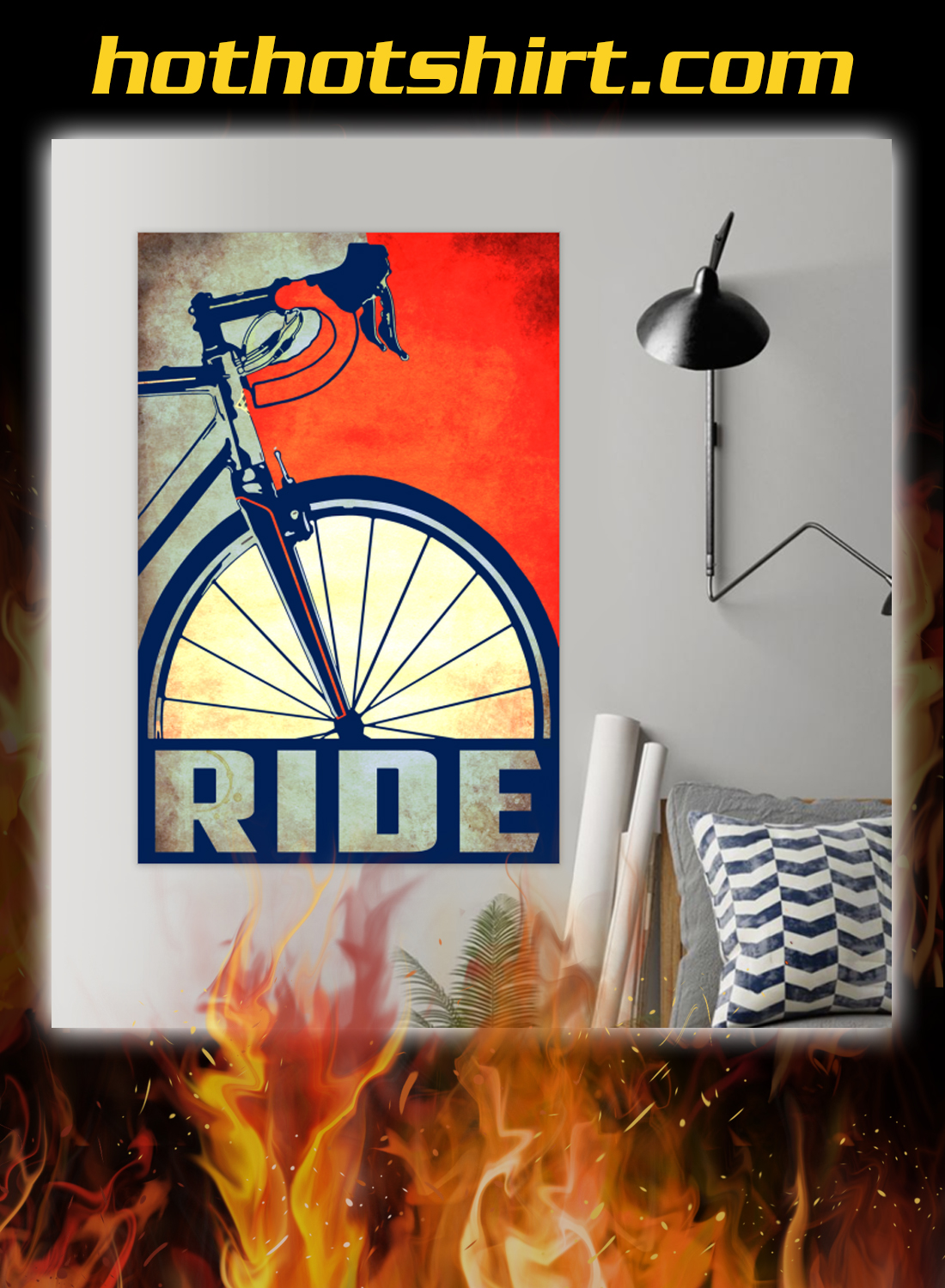 Bicycle ride poster 2