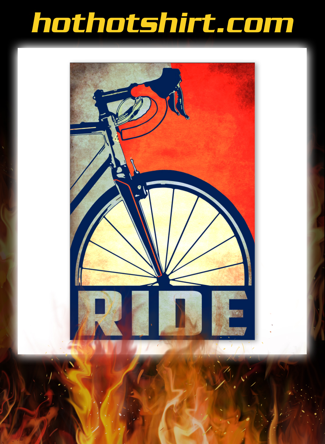 Bicycle ride poster 3