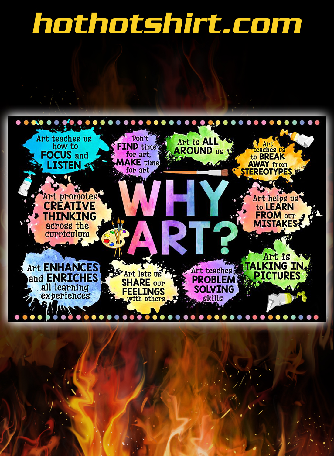 Classroom why art poster 3