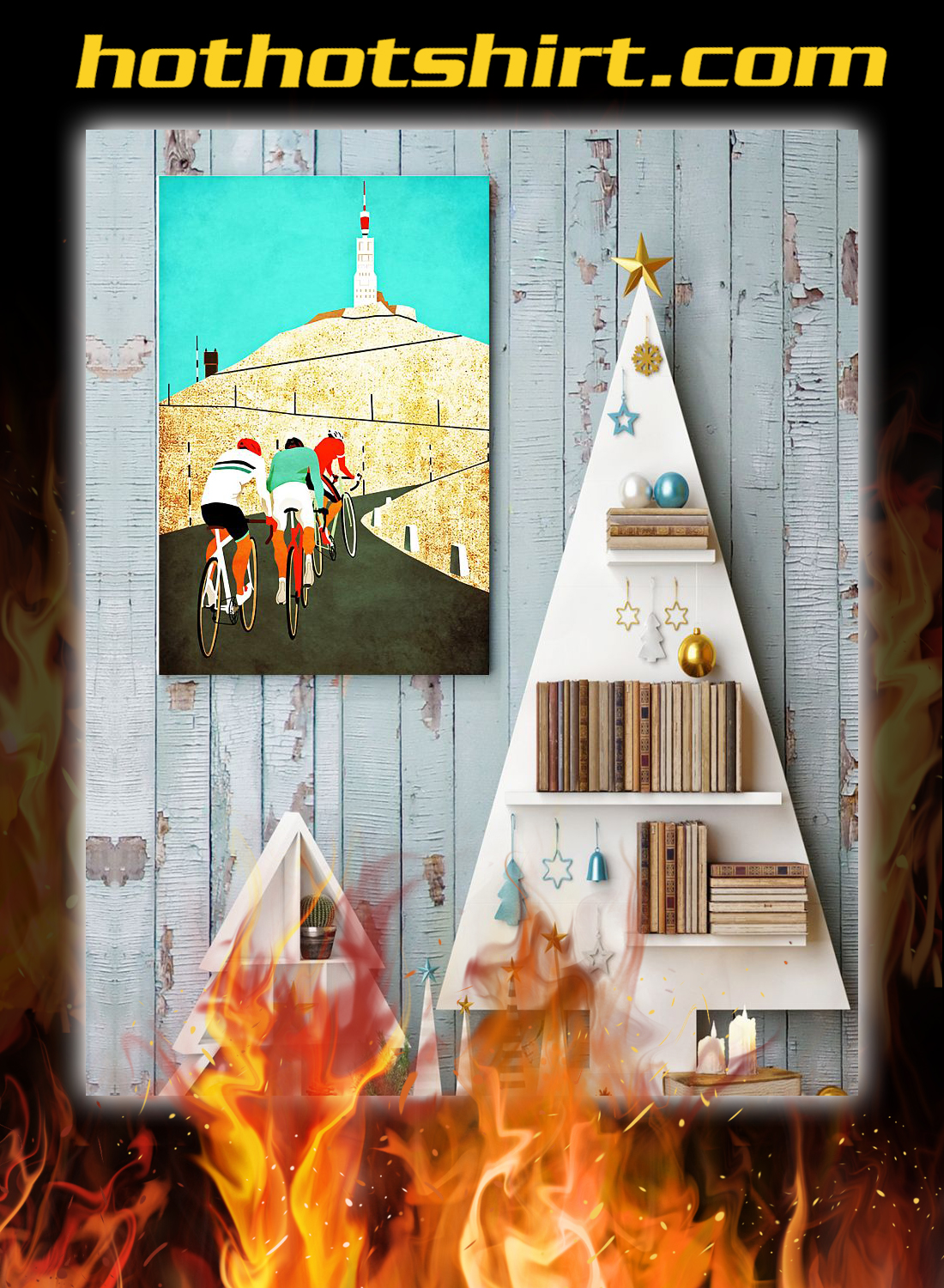 Cycling Mount ventoux poster 3