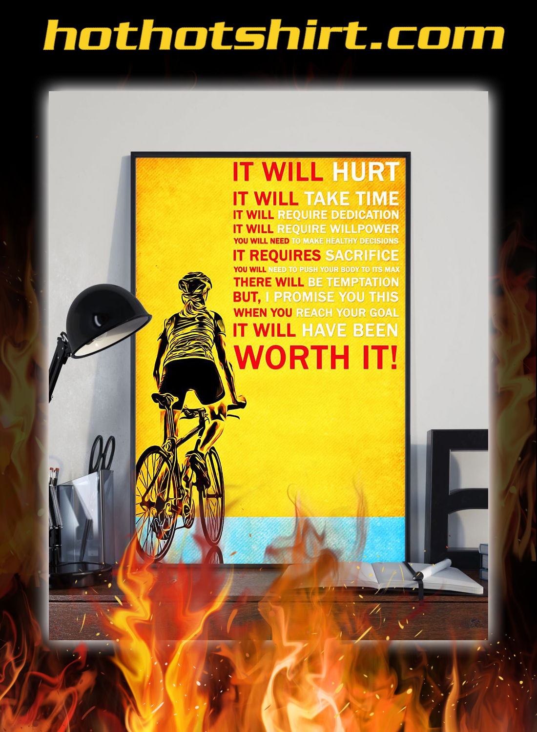 Cycling it will hurt poster 1