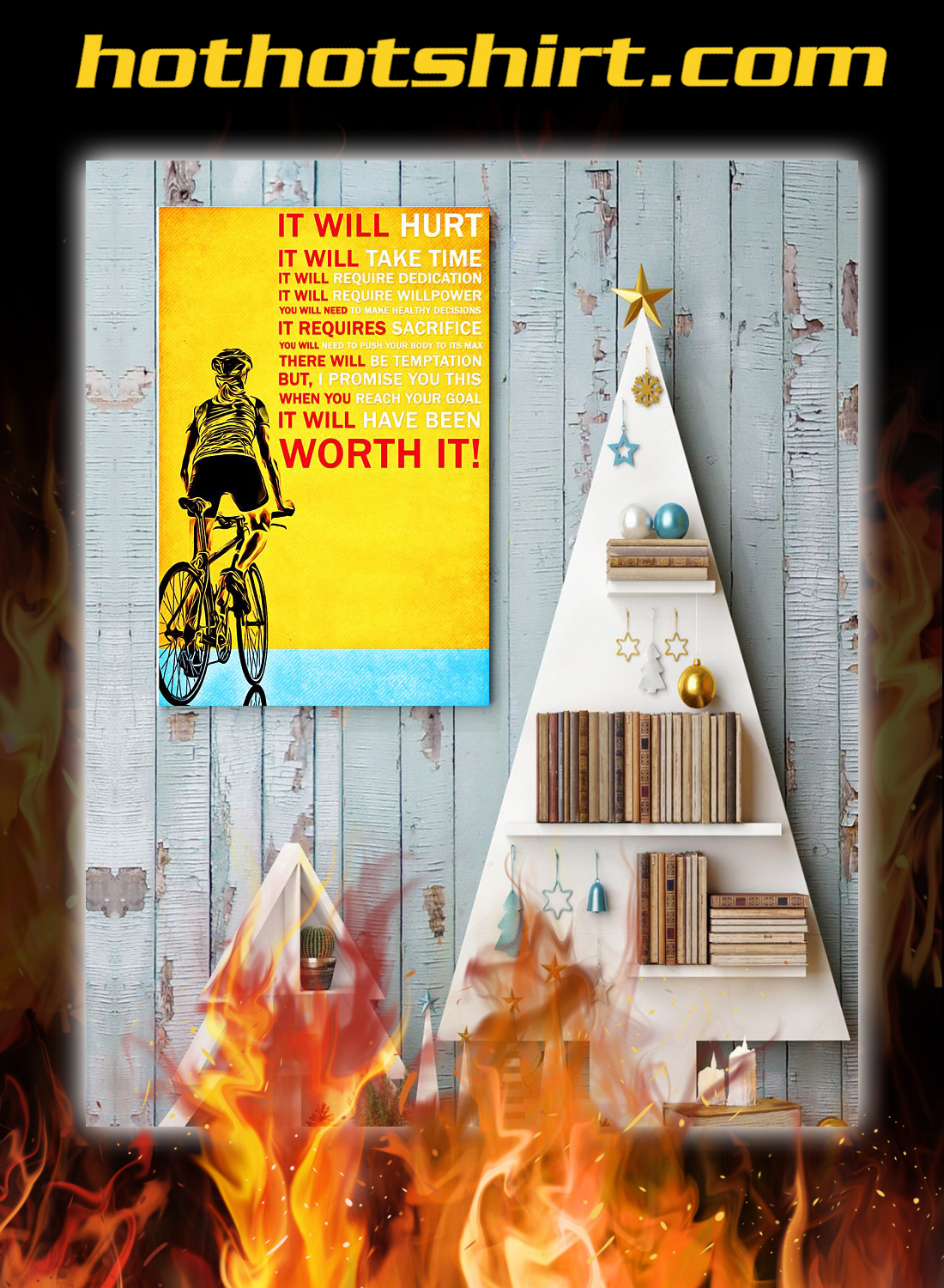 Cycling it will hurt poster 3