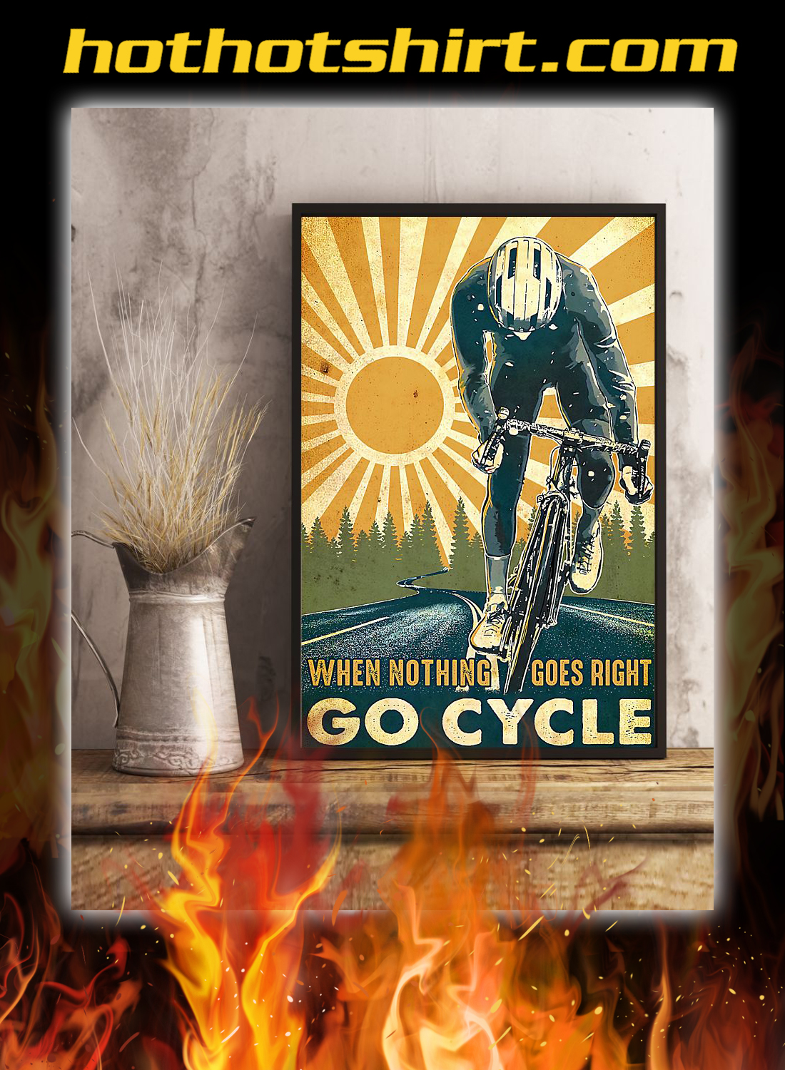 Cycling when nothing goes right go cycle poster 1