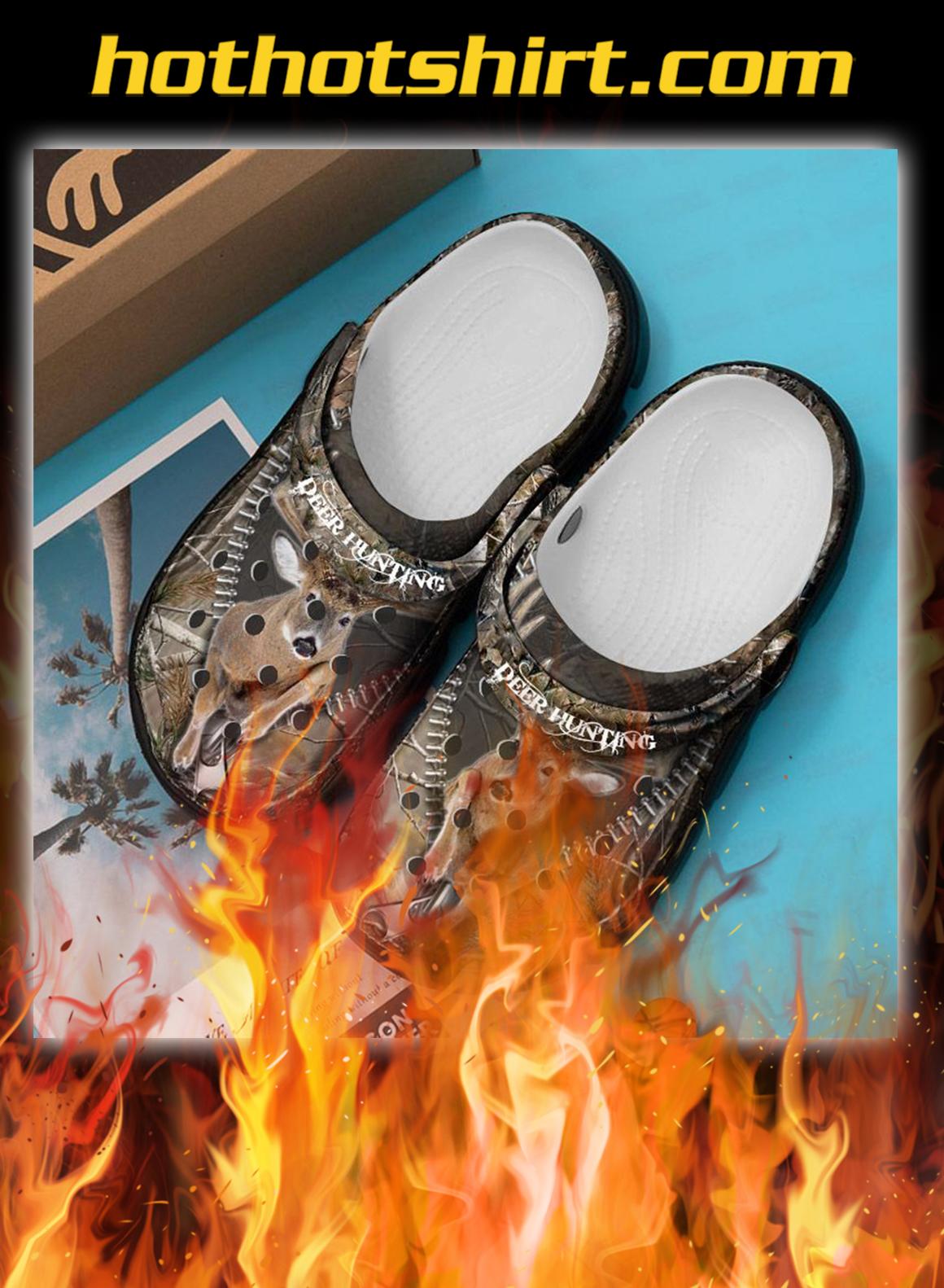 Deer hunting crocs crocband shoes- pic 1