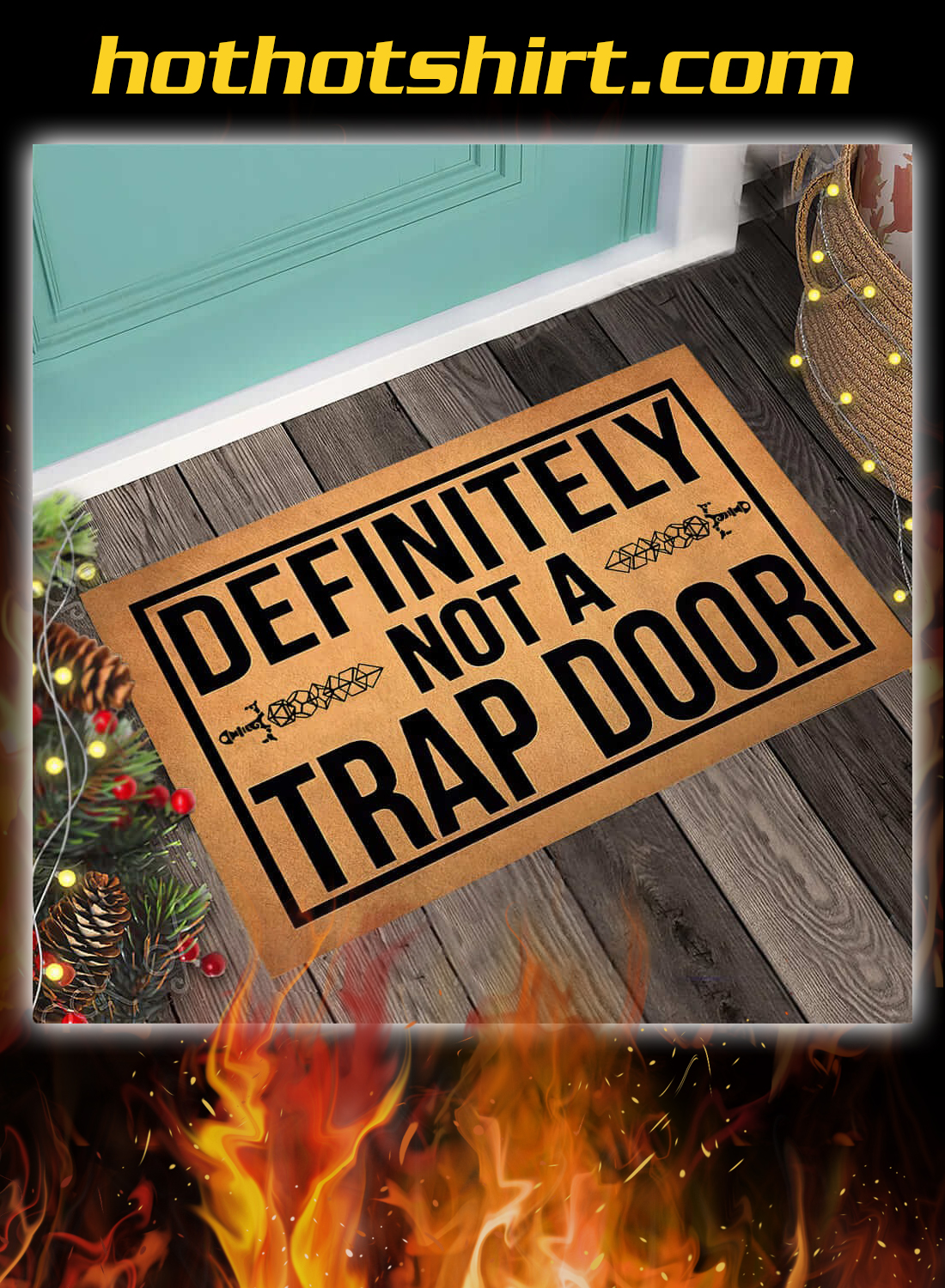 Definitely not a trap door doormat 1