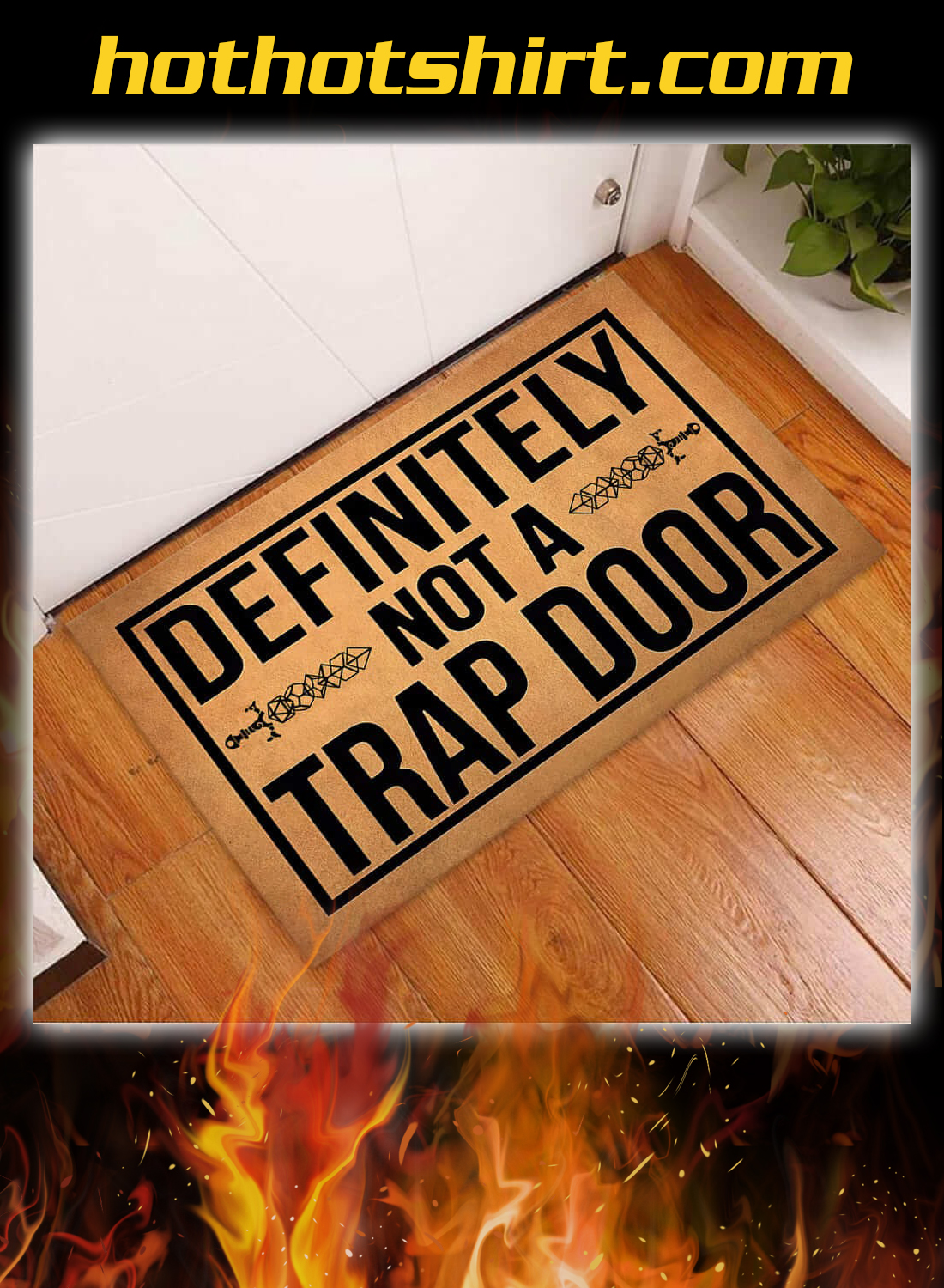 Definitely not a trap door doormat 2