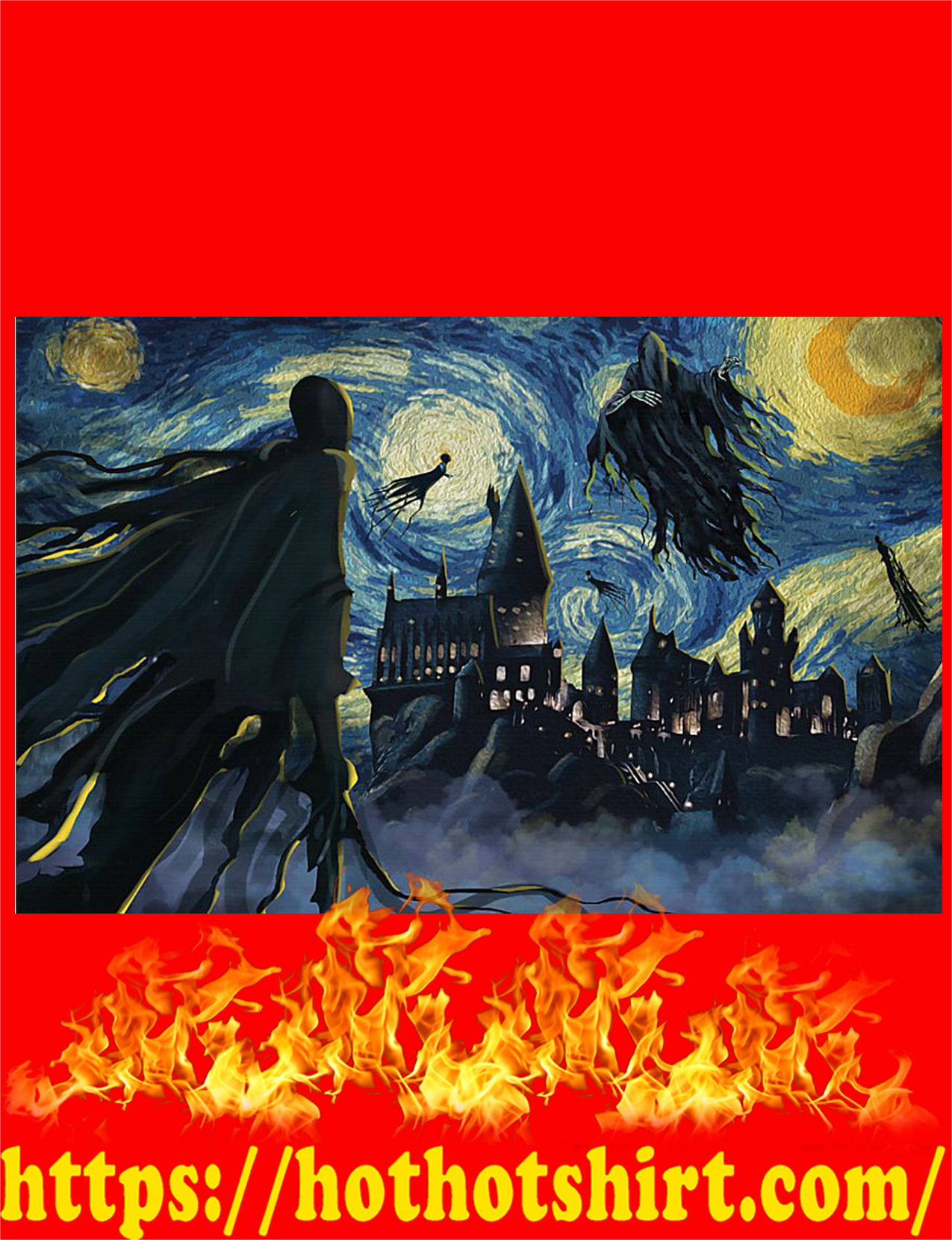 Dementor azkaban starry night poster 2