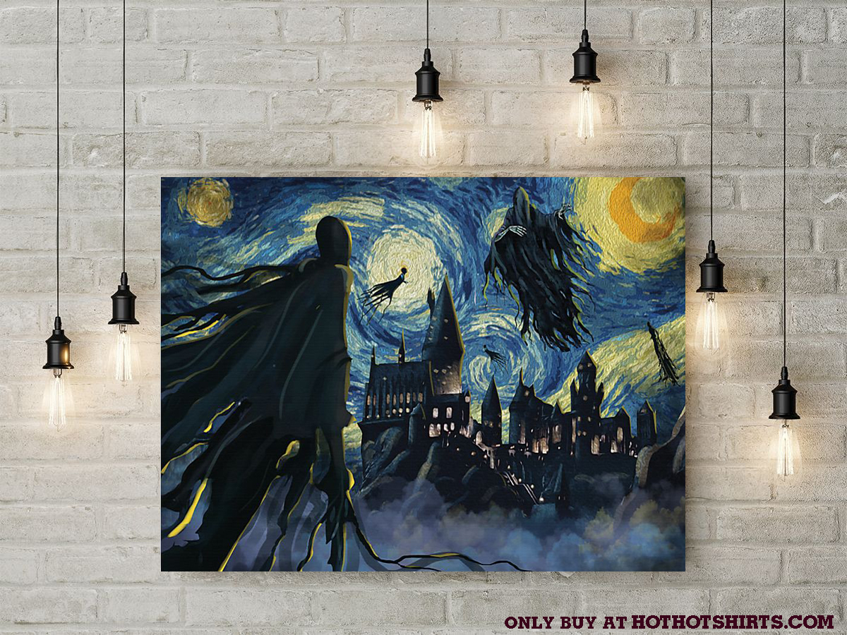 Dementor azkaban starry night poster