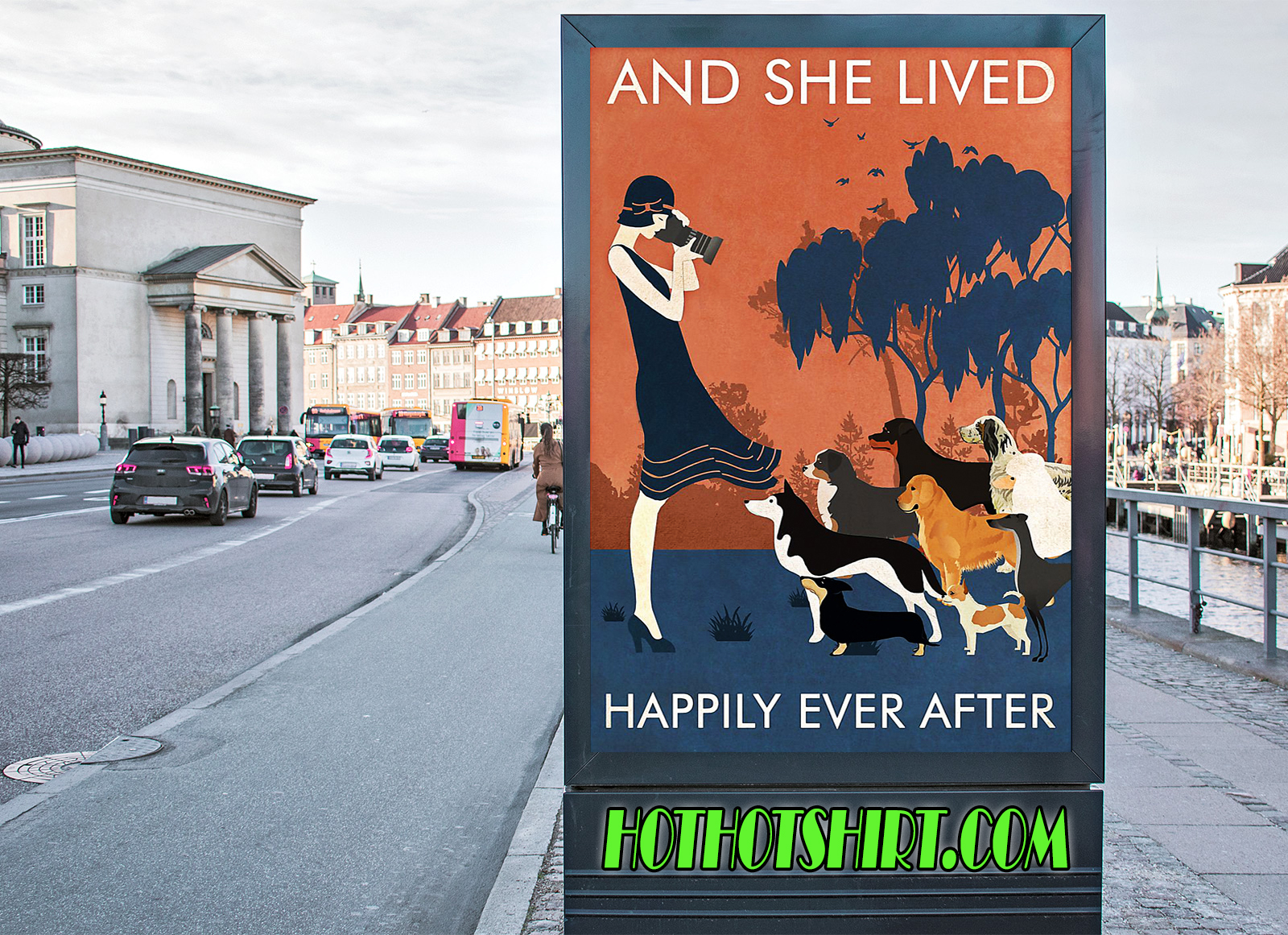Dogs and she lived happily ever after poster 3