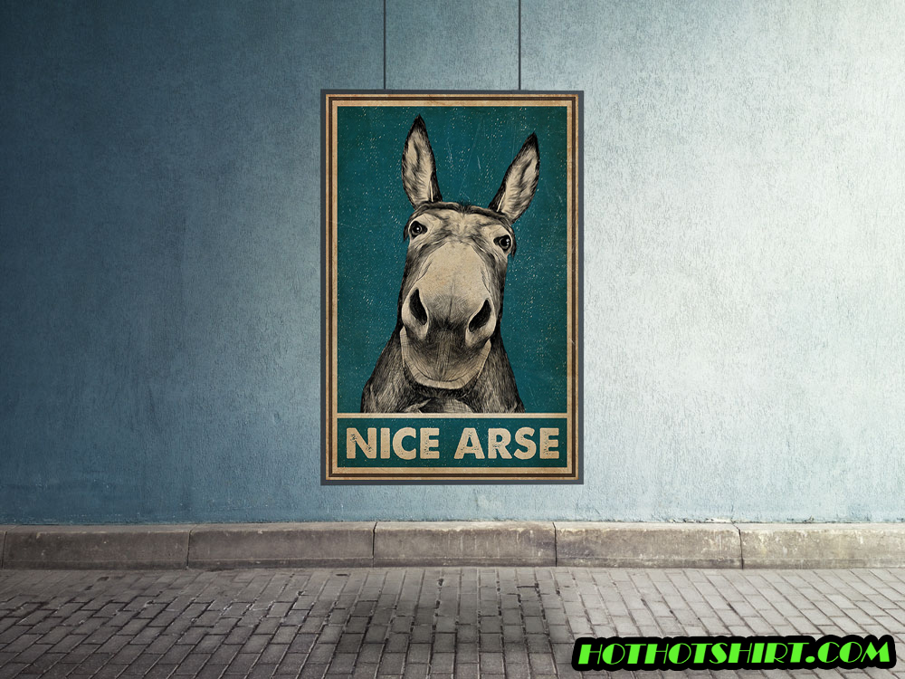 Donkey nice arse poster 1