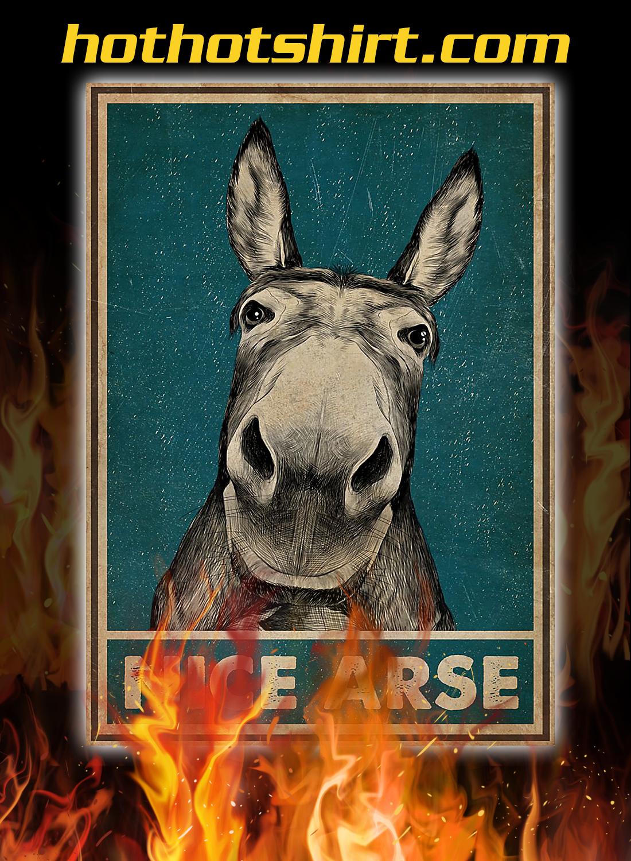 Donkey nice arse poster 2