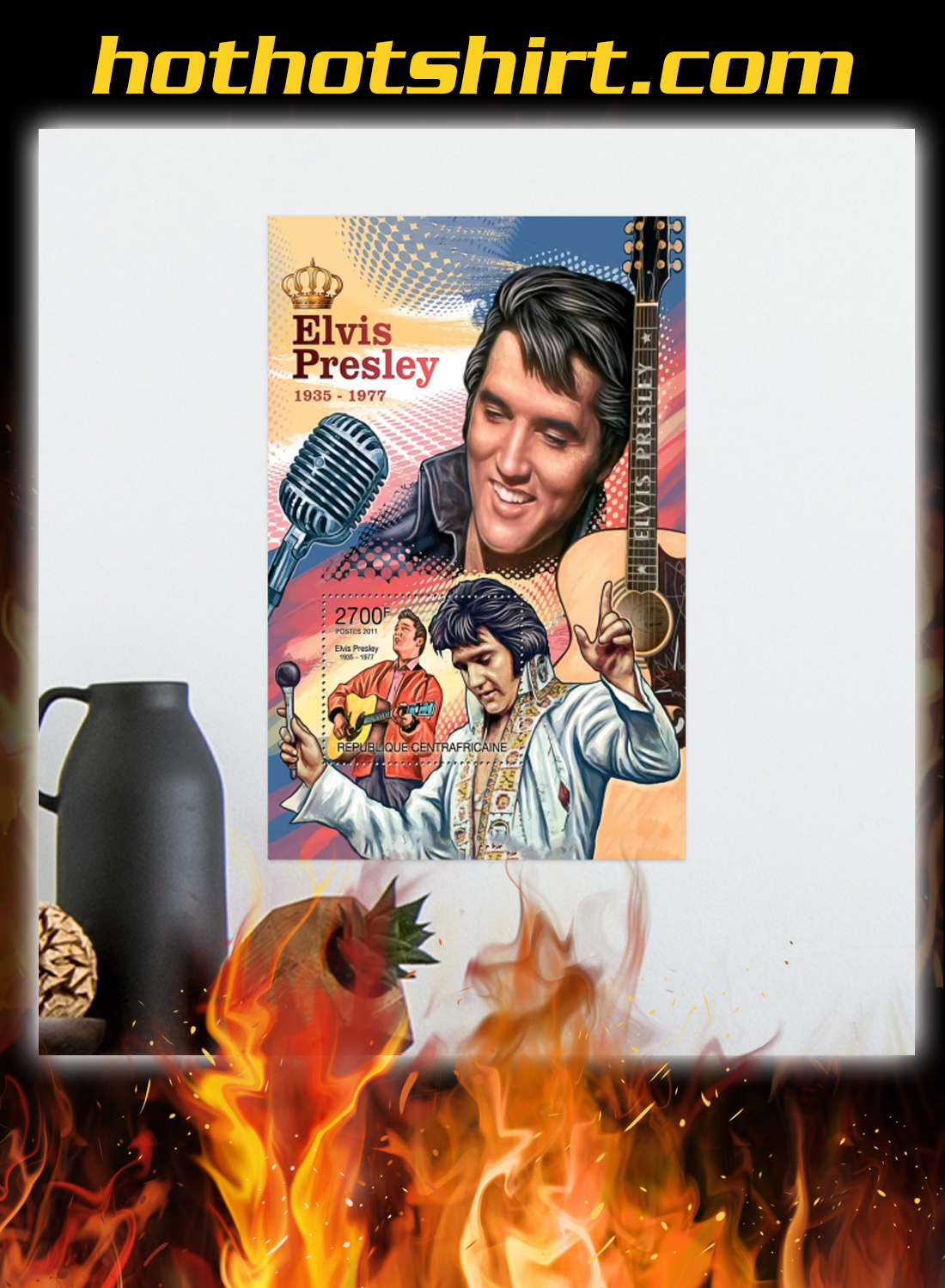 Elvis presley 1935 1977 poster and canvas prints 1
