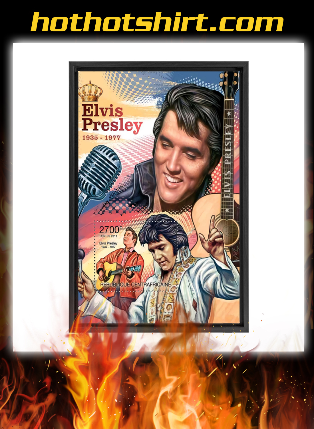 Elvis presley 1935 1977 poster and canvas prints 2