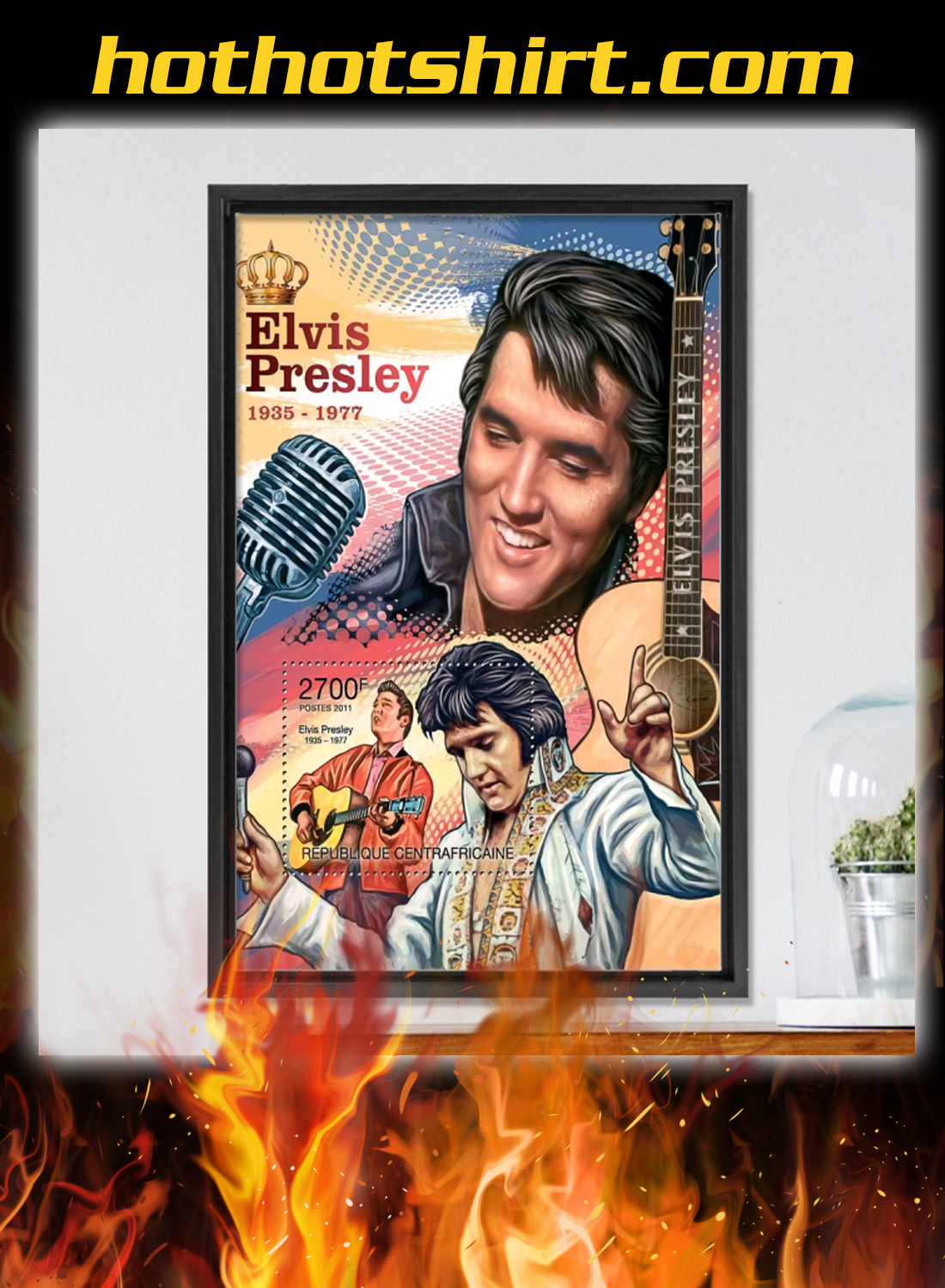 Elvis presley 1935 1977 poster and canvas prints 3