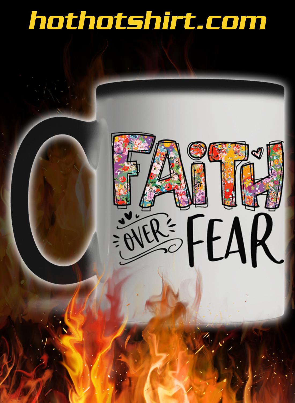 Faith over fear mug 1