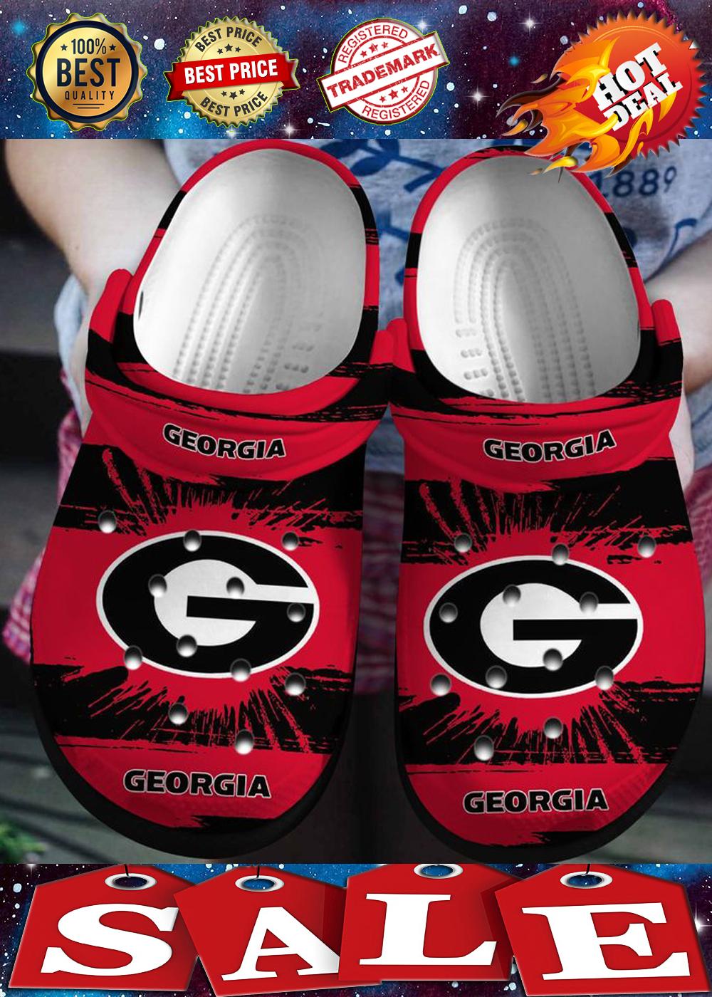 GEORGIA BULLDOGS FOOTBALL CROCBAND 2