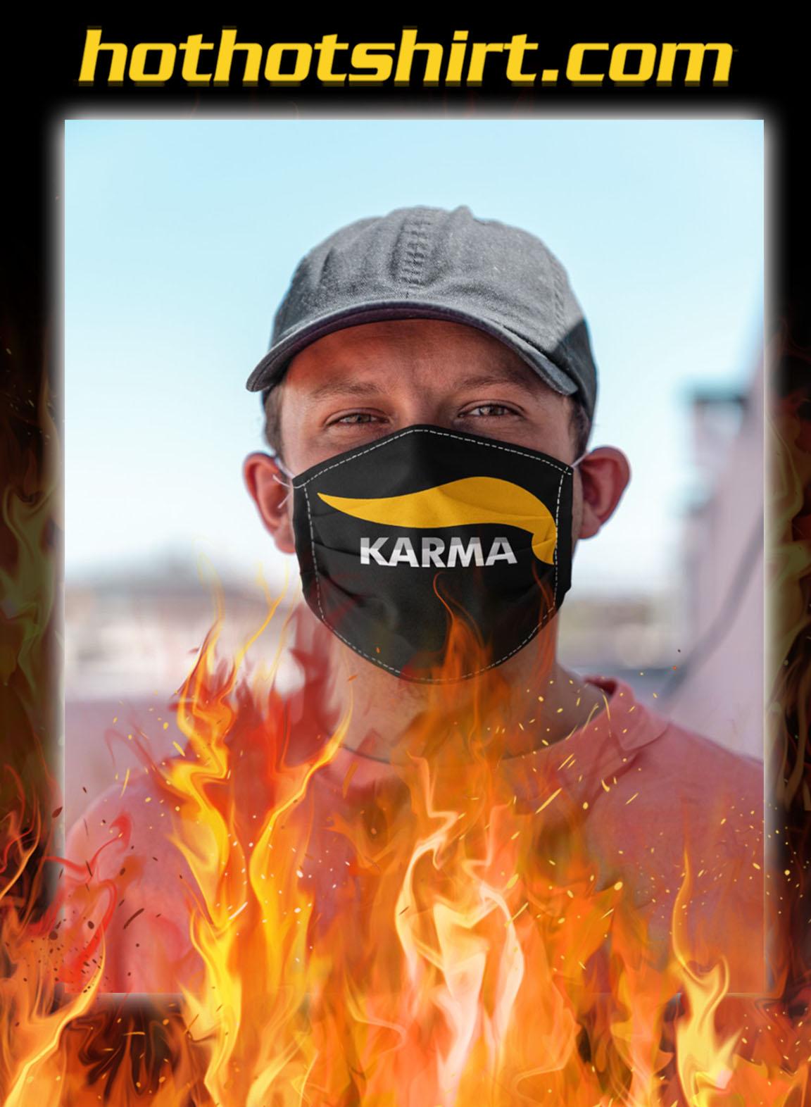 Karma trump face mask- pic 1
