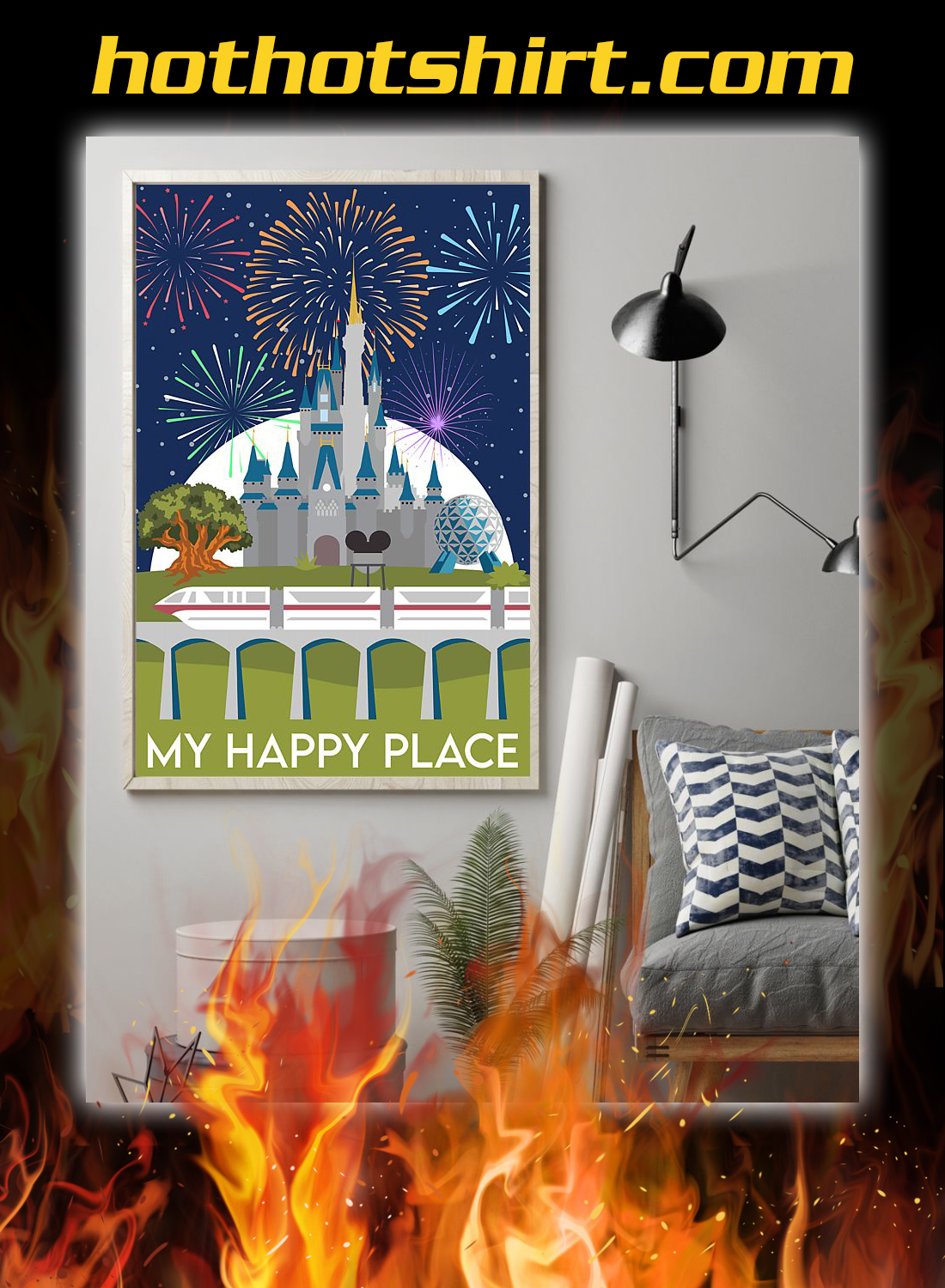 My happy place poster 1
