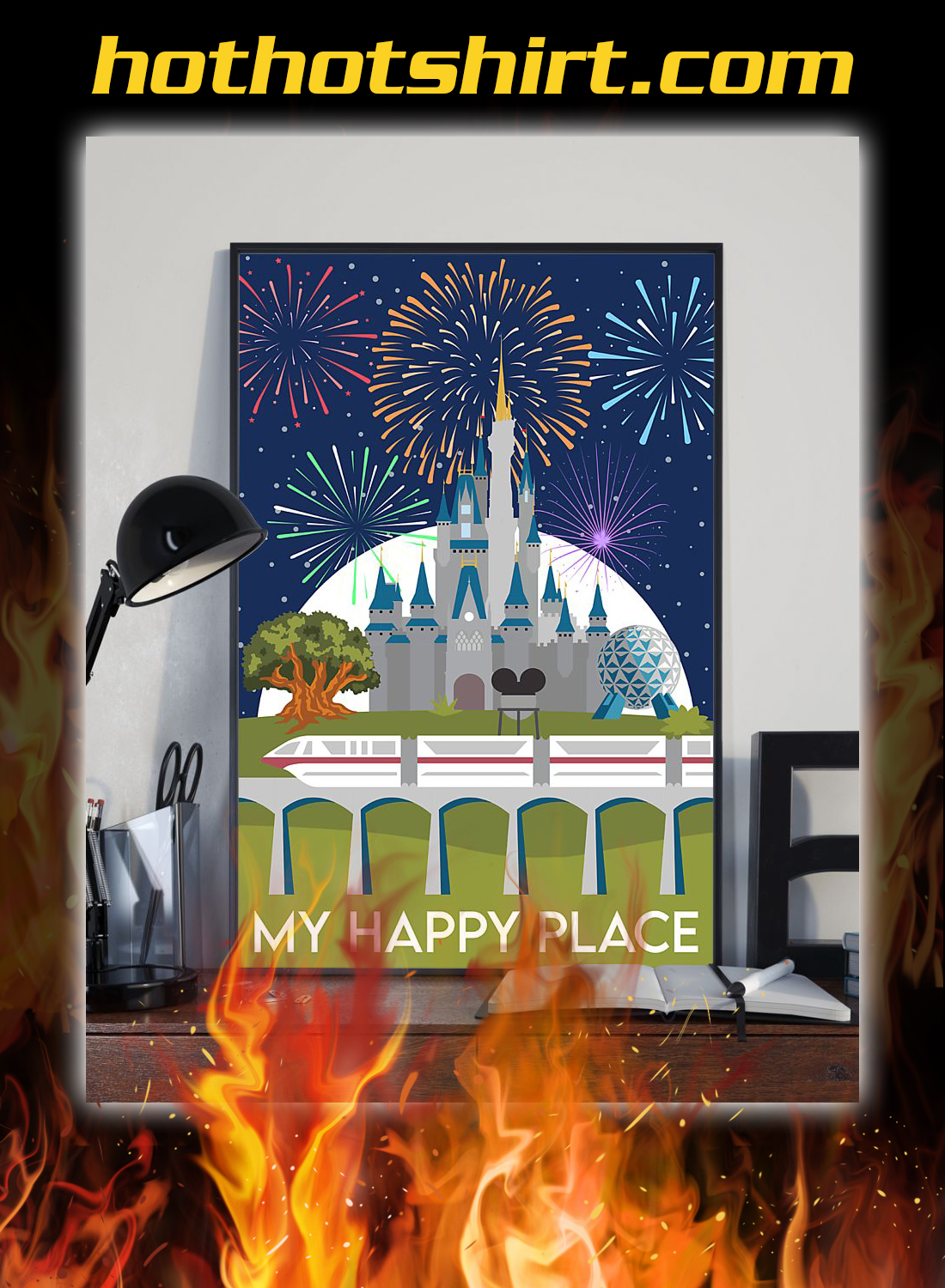 My happy place poster 2