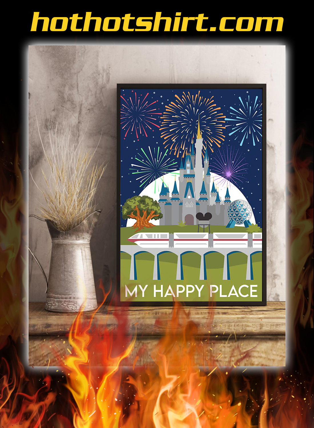 My happy place poster 3