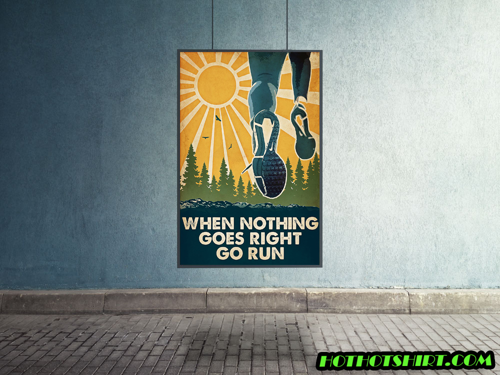 Running When nothing goes right go run poster 1