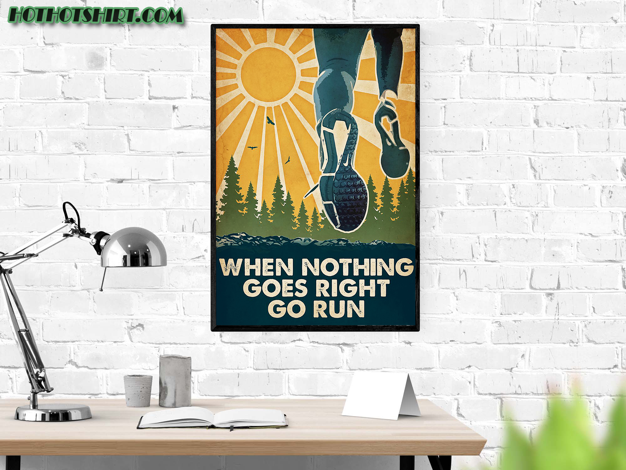 Running When nothing goes right go run poster 2