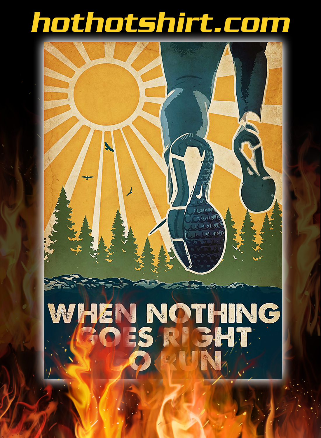Running When nothing goes right go run poster 3