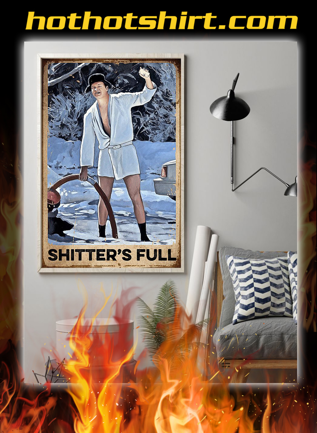 Shitter's full christmas vacation poster 1