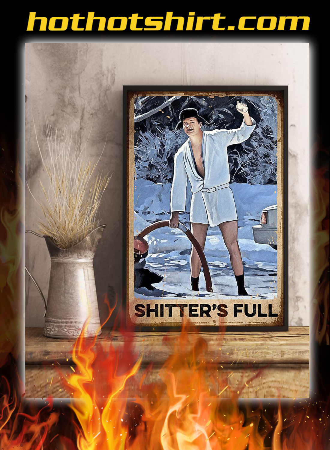Shitter's full christmas vacation poster 3