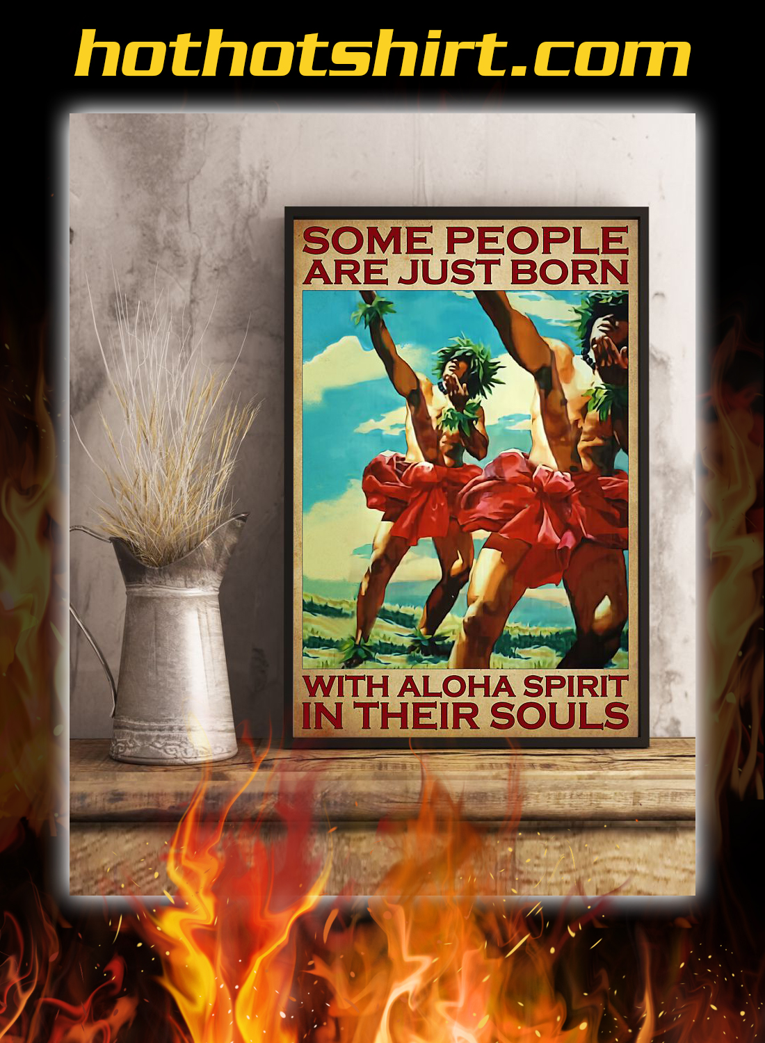 Some people are just born with aloha spirit in their souls poster 2