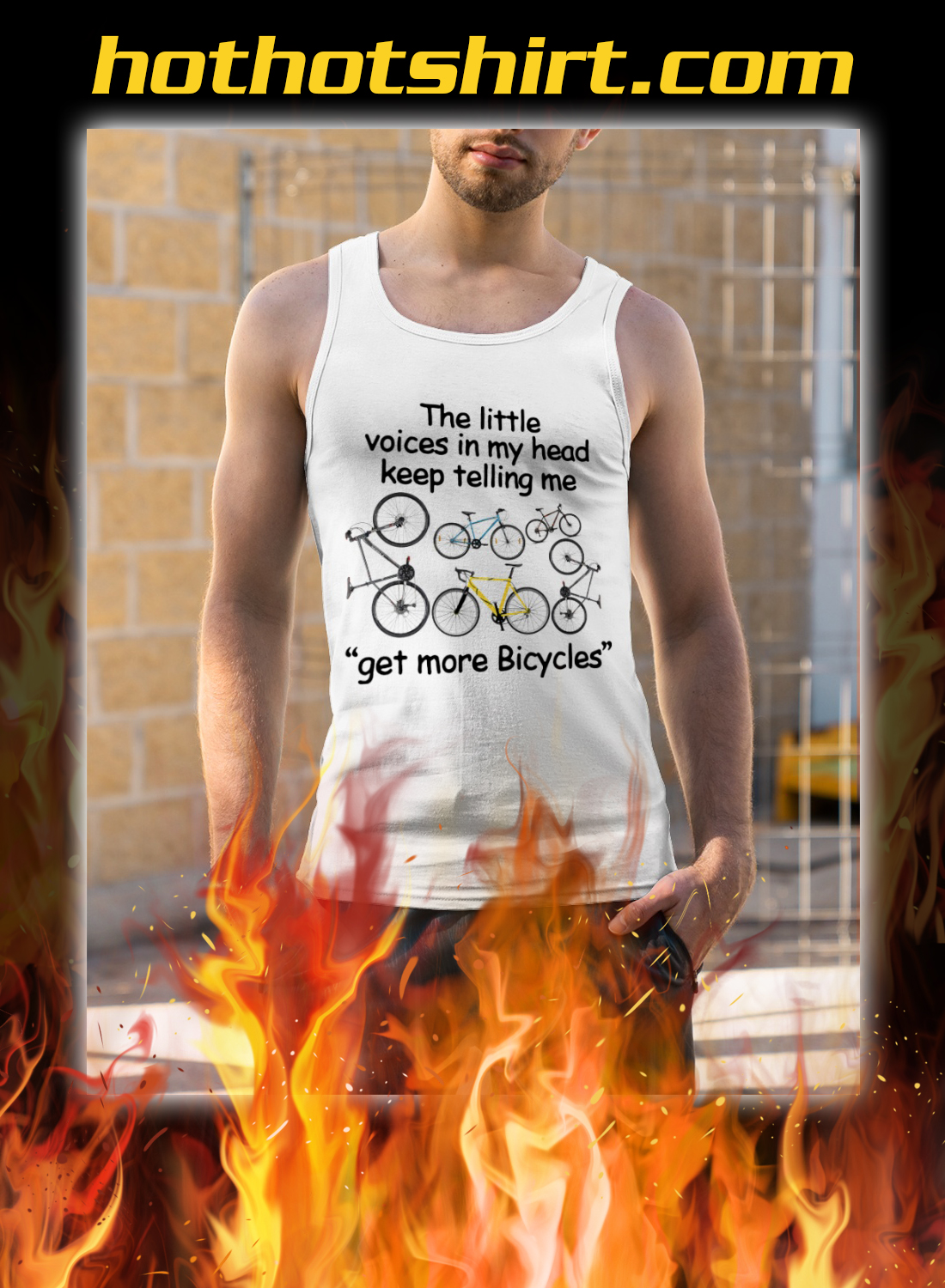 The little voices in my head keep telling me get more bicycles shirt 5