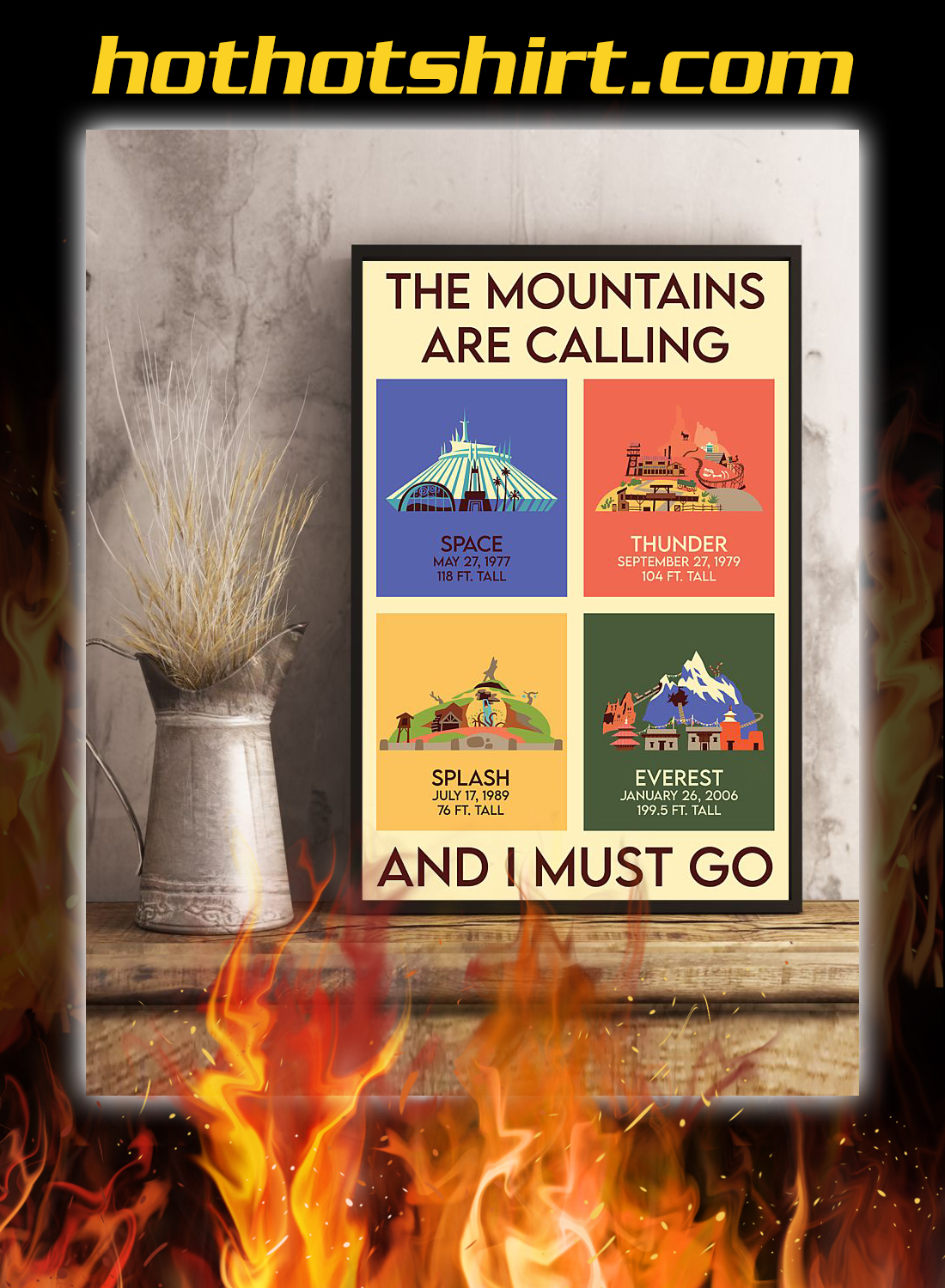 The mountains are calling and i must go poster 3