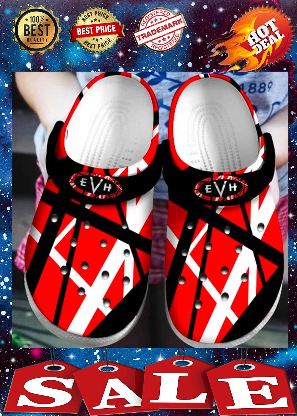 VAN HALEN crocs shoes 1