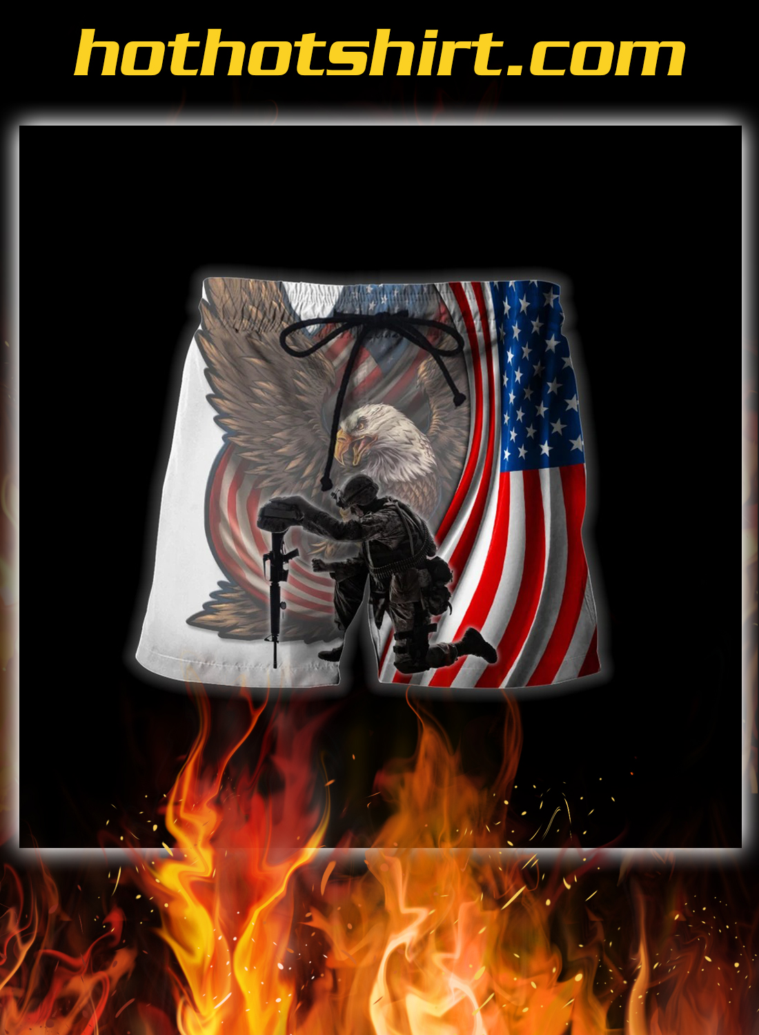 Veteran if you haven't risked coming home under a flag 3d all over printed hoodie 4