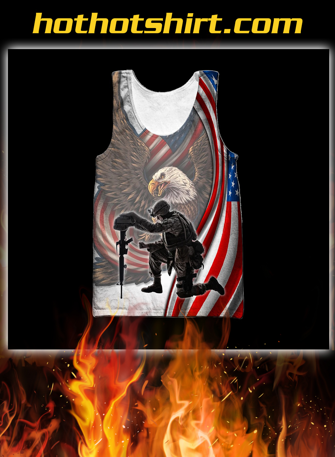 Veteran if you haven't risked coming home under a flag 3d all over printed hoodie 5